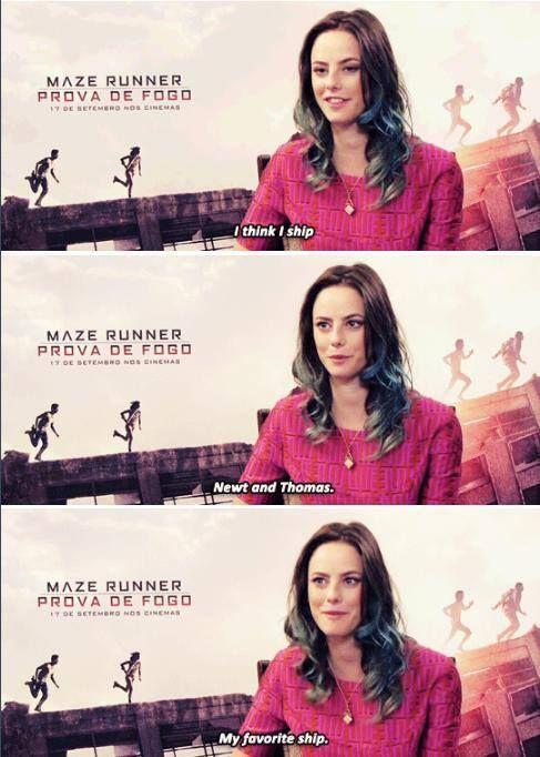 Kaya Scodelario - The Scorch Trials cast<<<< I know Kaya, I know