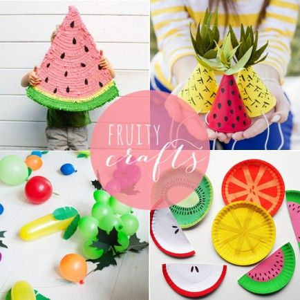 8 DIY Fruit Party Crafts from Babble.com