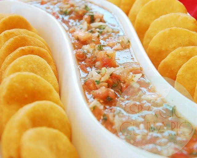 Sopaipillas y Pebre | Espacio Culinario