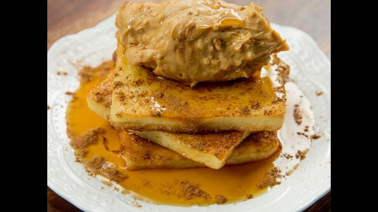 Do you need an excuse for eating some extra peanut butter? Maybe some French toast may help! Make this French toast with peanut butter and maple syrup for breakfast or whenever you crave for a comfort snack and youll be happier in no time!  --------------------- Follow us on: Facebook: http://sodl.co/2dRsH0l Instagram: http://sodl.co/2eMvdCP  Twitter: https://twitter.com/sodlco  Pinterest: http://sodl.co/2dRrshD