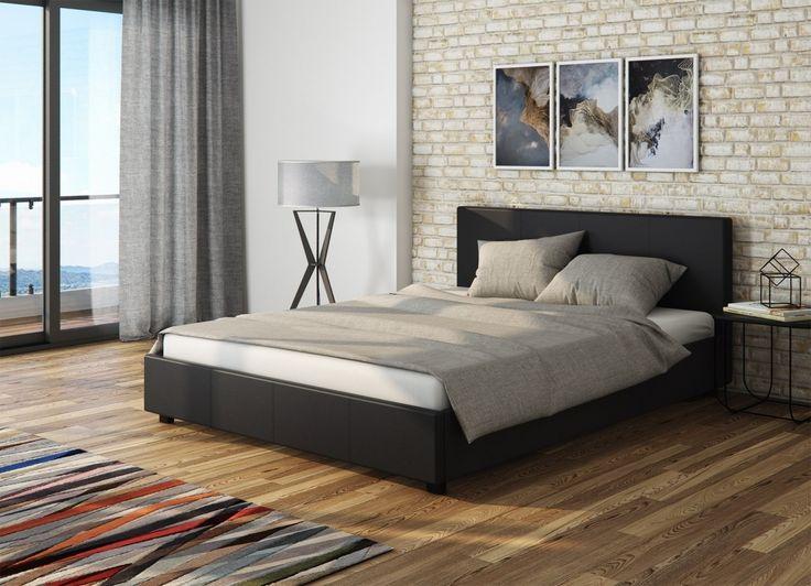 #bedroom #inspiration #home #decor #minimalism #simple #brick #black