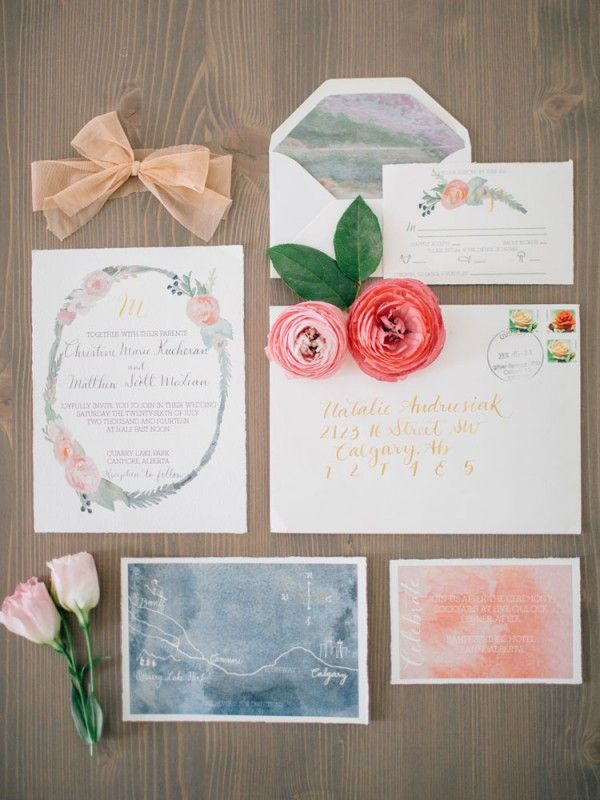 These Canadian wedding stationery companies you should know about #weddinginvite #stationery