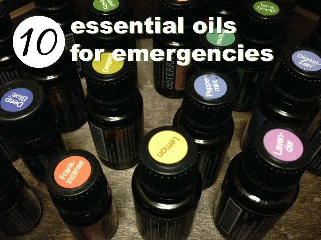 When creating your emergency first aid kit, here are 10 essential oils you'll want to include.