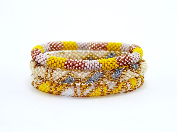 PRE-ORDER ONLY Out Of Stock Roll On Bracelets, Glass Bead Bracelet, Nepal Bracelets, Trendy Bracelets,  Beaded Bracelets, Bracelets, Fair Tr by EthnoKolor on Etsy