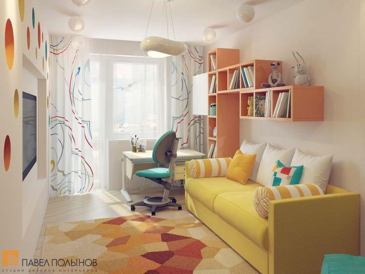 Яркая детская комната  / kids room / kids room idea / kids room decor / kids room design / by Pevel Polinov Studio #design #interior #homedecor #interiordesign
