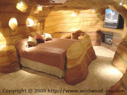 Wildwood Cave Inn- Shaped by the Winds and Water of Nature. Location Antelope Canyon of Arizona