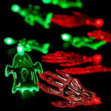 halloween light up ghosts 10 pack halloween party decorations halloween - Light Up Halloween Decorations