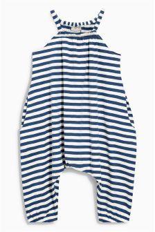 Striped Playsuit (3mths-6yrs) Next £10
