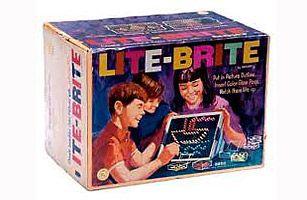 Lite-Brite  Hours of Fun