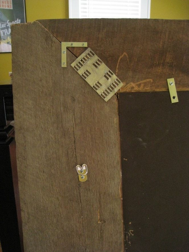 How to make mirror from barn wood....good