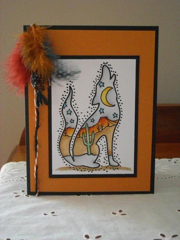 southwest - Homemade Cards, Rubber Stamp Art, & Paper Crafts - Splitcoaststampers.com