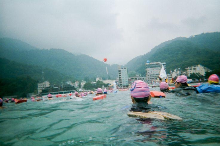 Swim across Sun Moon Lake 泳渡日月潭  2008/8/31