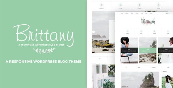 Brittany - A Responsive WordPress Blog Theme Brittany is an elegant and minimal WordPress theme created for travellers, blogger and photographers.