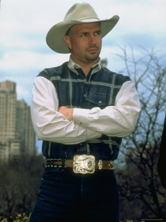 Country Singer Garth Brooks - Buy this premium photographic print at AllPosters.com