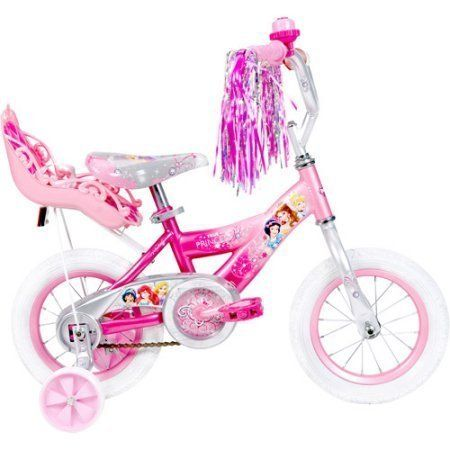 12 Huffy 52454 Steel Bicycle Frame Disney Princess Girls' Bike with Doll Carrier, Pink Color by Huffy. 12 Huffy 52454 Steel Bicycle Frame Disney Princess Girls' Bike with Doll Carrier, Pink Color.