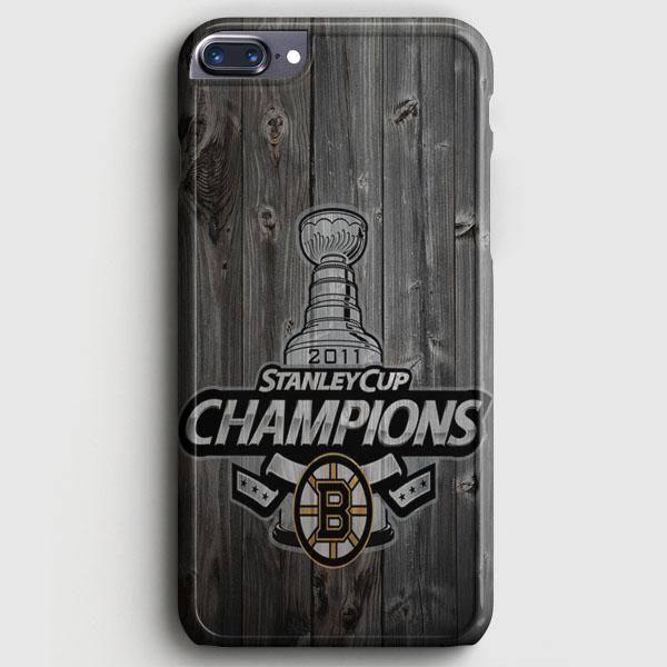 Custom Boston Bruins Hockey iPhone 8 Plus Case