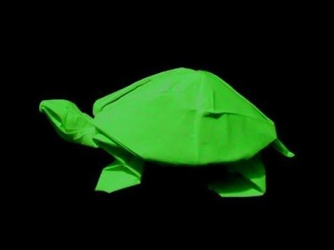 How to make: Origami Turtle (Robert J. Lang) - YouTube