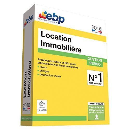 EBP Location Immobilière 2016 version 10 Lots: Cet article EBP Location Immobilière 2016 version 10 Lots est apparu en premier sur Toutes…