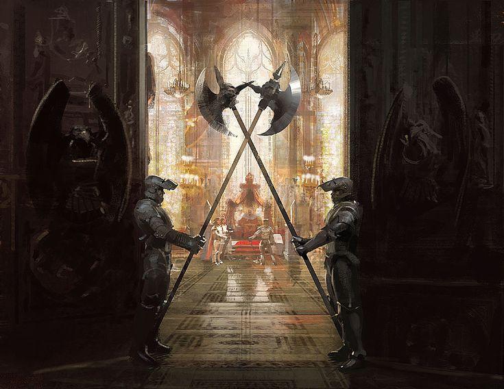 throne fantasy room kings
