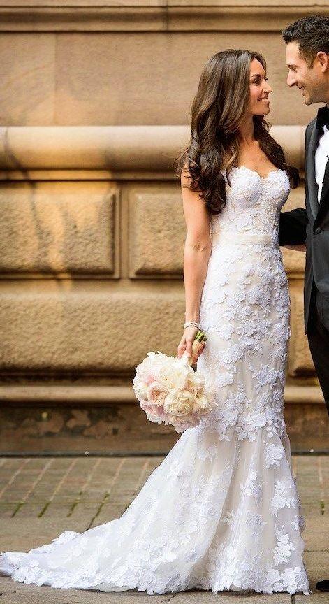 Fashionable Wedding Gowns 2017 : Best 25 mermaid wedding dresses ideas on pinterest wedding