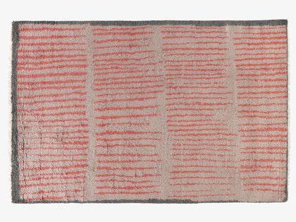 ANWAR Red patterned rug