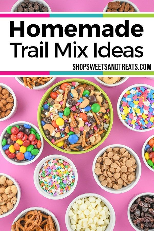 Homemade Trail Mix Recipe Ideas Make Your Own Recipes