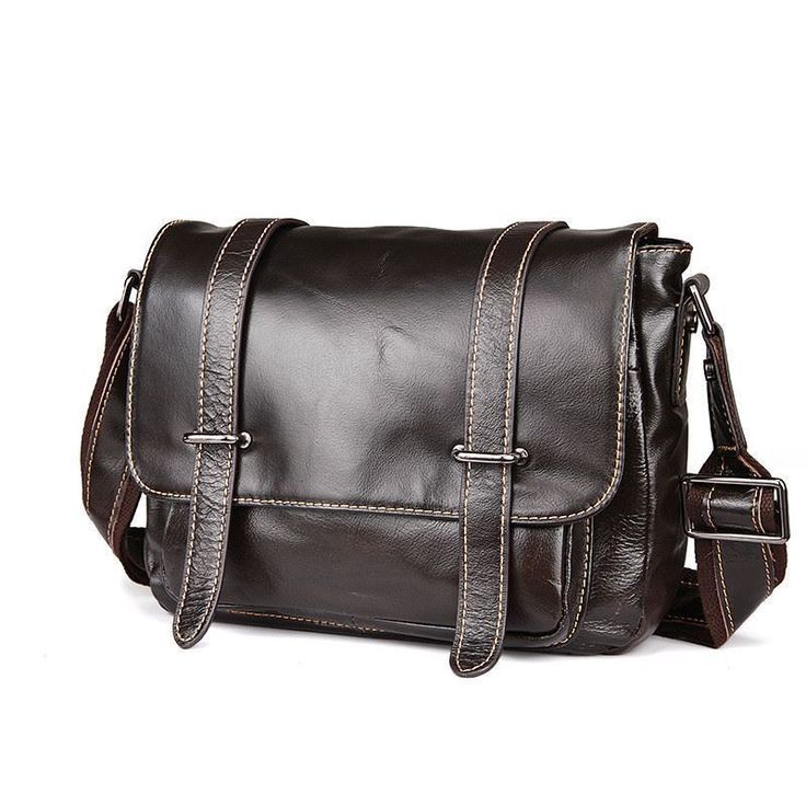 Men Design Shoulder Bag Large Capacity Retro Vintage England Style Messenger Bag
