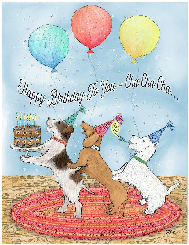 Открытки ко дню рождения республики, китайская хохлатая собака