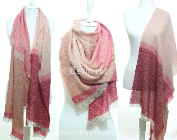 Wine Pink Nude Tweed Cozy Warm Winter Scarf Winter by #escherpe #scarves #scarf #shawl #shawls #wrap #wraps #tartan #plaid #check #summer #trend #spring #women #fashion #accessories #holidays #holiday #christmas #gift #gifts #outfit #accessorize #style #stylish #love #TagsForLikes #me #cute #photooftheday #nails #hair #beauty #beautiful #instagood #instafashion #pretty #girly #pink #model #dress #skirt #shoes #heels #ivory #shopping #trend #trending #winter #camo #blanket