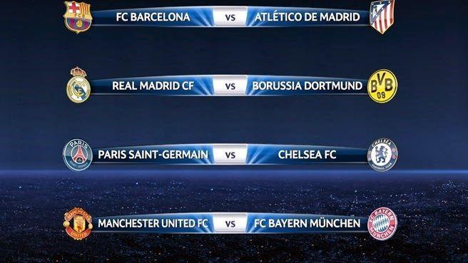 RADIO    CORAZON     DEPORTIVO: UEFA CHAMPIONS LEGUE[SORTEO CUARTOS]: BARÇA - ATLÉ...
