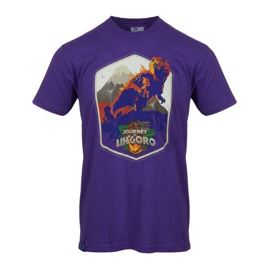 Hearthstone: Journey to Un'Goro Shirt - Men's $24.00 Размер XL  https://gear.blizzard.com/us/game/hearthstone/hs-ungoro-shirt-mens