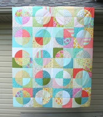 crazy mom quilts: running in circle quilt tutorial