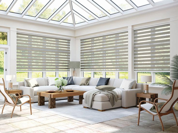 Create a private haven with the Tuscany Mink Vision Blind