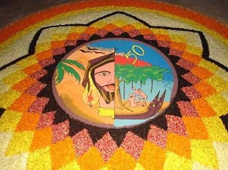 50 Best Pookalam Designs For Onam Festival | Festivals ...