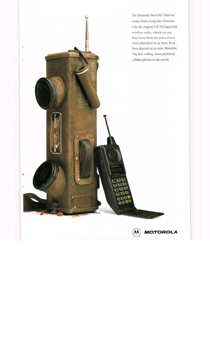 1994 Motorola MicroTac Ultra Lite flip cell phone ad2 - National Geographic September 1994