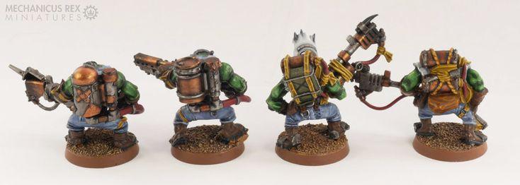 Burna Squad Ork Blood Axe Clan Warhammer 40K