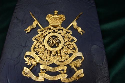 Victorian Officers Sabretache of the 16th Lancers - stunning !