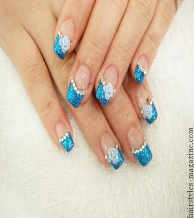 20 Cute Nail Art Designs for Short Nails - Hairstyles Magazine