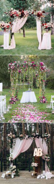 Elegant outdoor wedding decor ideas on a budget (25)