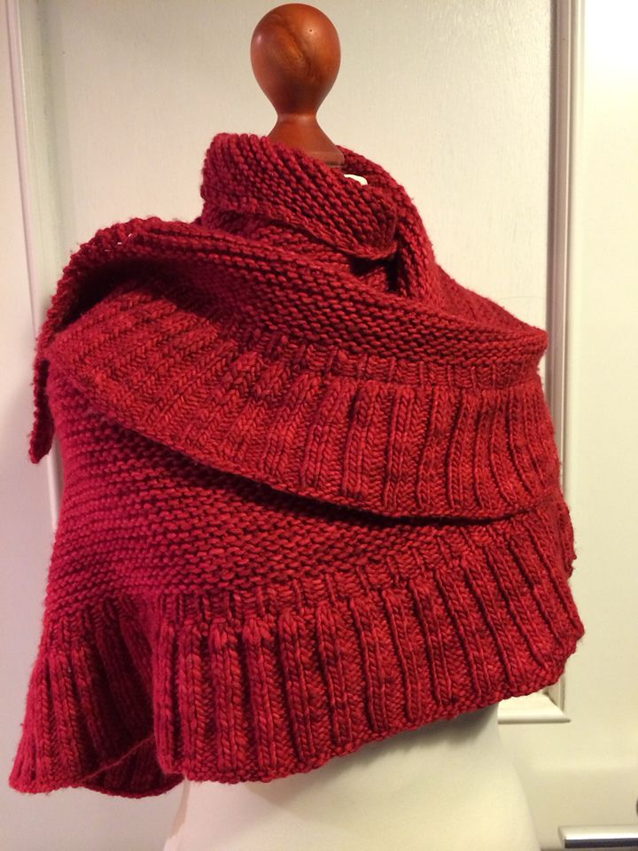Mara Shawl By Madeline Tosh - Free Knitted Pattern - (ravelry)