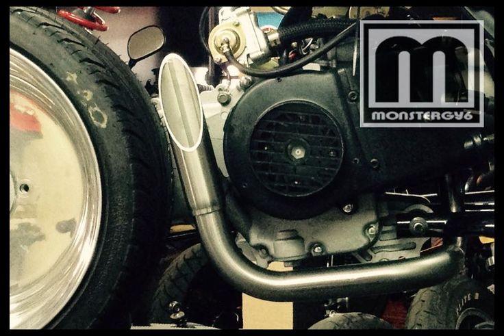 Honda Ruckus, Ruckus Performance Parts, NCY Ruckus Parts.
