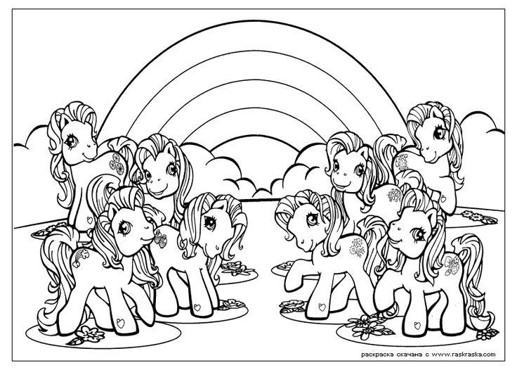 Printable Unicorn Coloring Pages For Adults : 28 best fargelegging hester enhjørninger images on pinterest