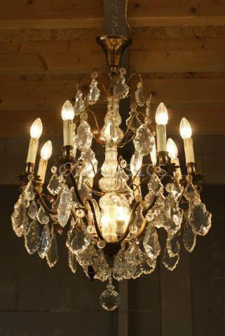 Beautiful wooden lamp M s