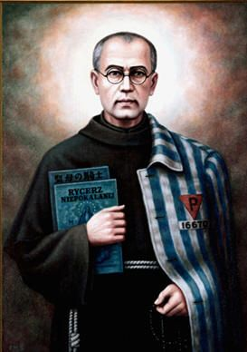 St. Maximilian Kolbe - no greater love than this: This Saint laid down his life for another
