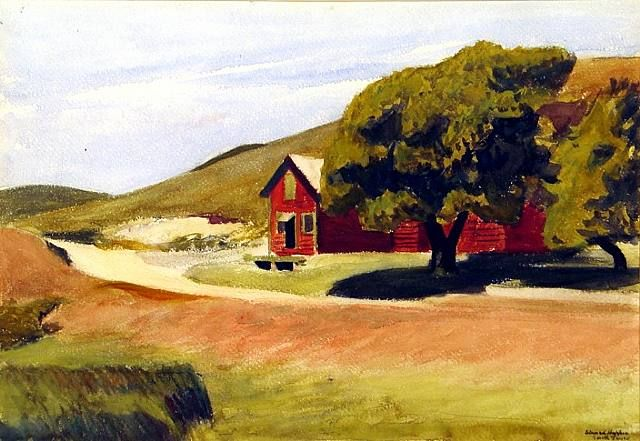 Edward Hopper - South Truro Post Office II (1930)