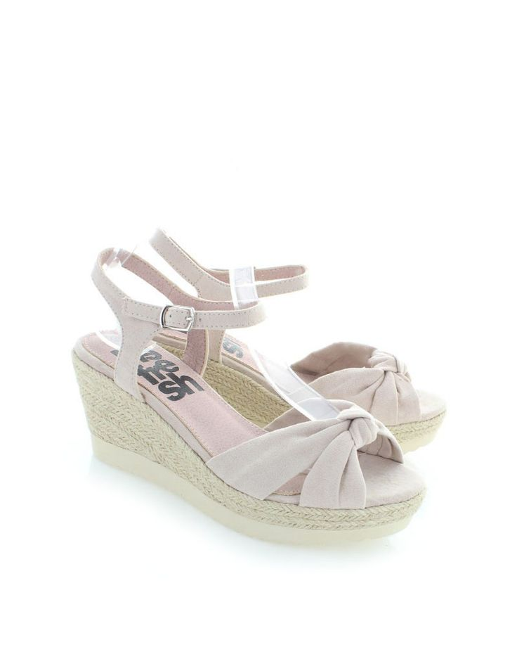 Světle růžové platformové sandály Refresh 63271 | Botovo.cz