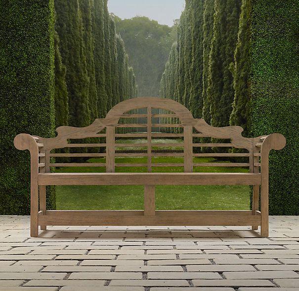 Lutyens Bench | Benches | Restoration Hardware