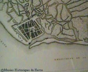 """La création du Havre de Grâce à la Renaissance par François I°. - Chacun des ambitieux projets royaux bénéficie de somptueuses décorations tant extérieures qu'intérieures. François I° décide en 1517 de la fondation d'un nouveau port, initialement appelé """"Fransicopolis"""" mais que l'existence d'une chapelle sur le site choisi pour sa construction fera nommer le """"Havre de Grâce"""". La ville du Havre."""
