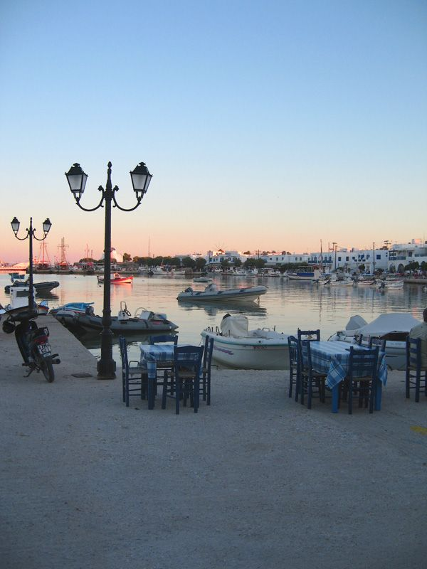 Antiparos Harbour - Where our car ferry dropped us off. First impressions - impressive.