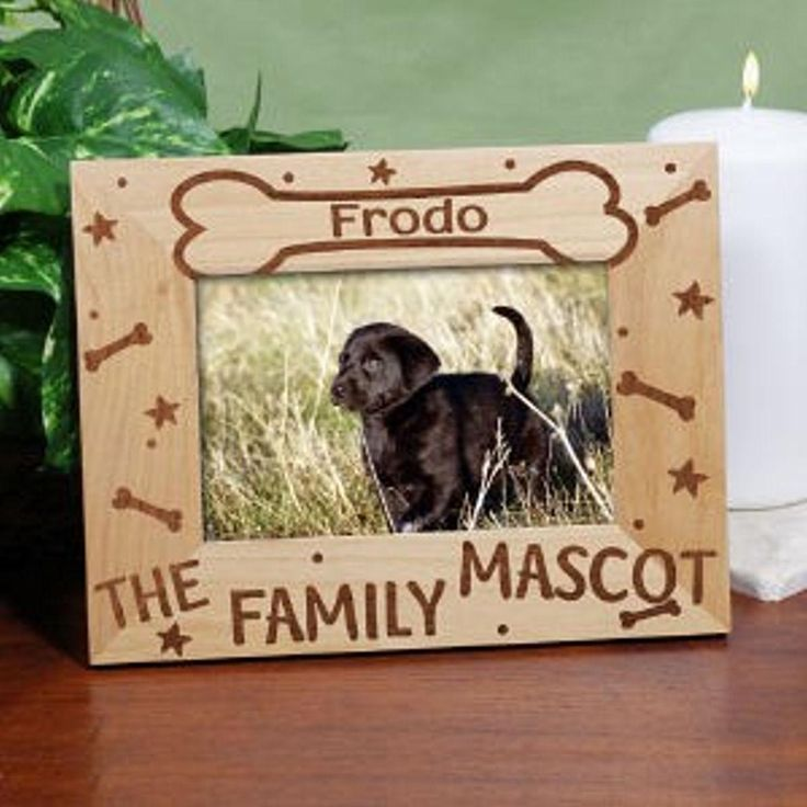 dog photo frames personalized - Dog Frame